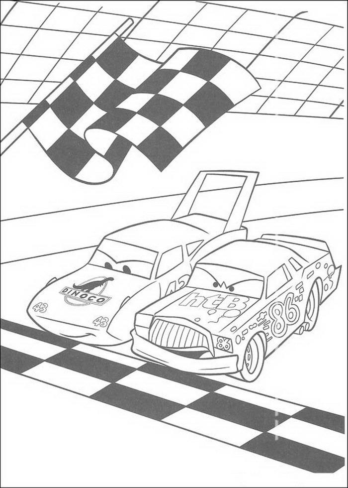 Kleurplaat Cars Lightning Kleurplatenwereld Nl Gratis Cars Kleurplaten Downloaden